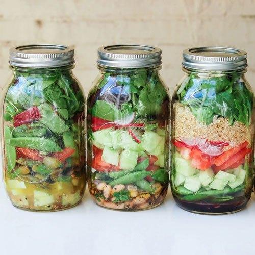 Bảo quản rau củ trong lọ thủy tinh để lưu trữ được lâu hơn bằng tủ lạnh