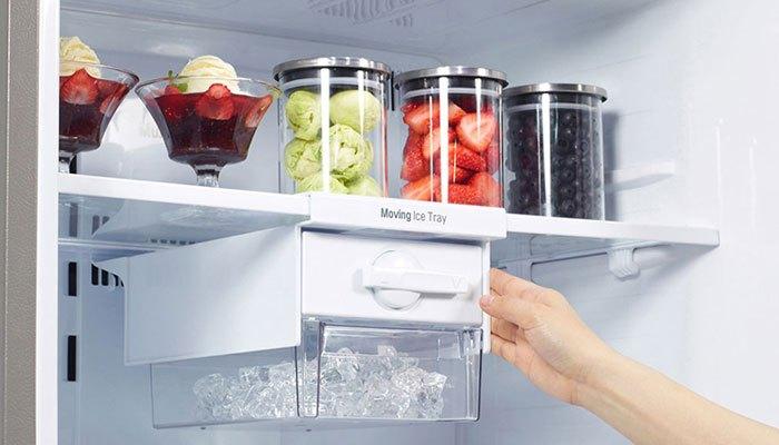 Ngăn đông tủ lạnh tốt nhất nên chỉnh dưới -18 độ C