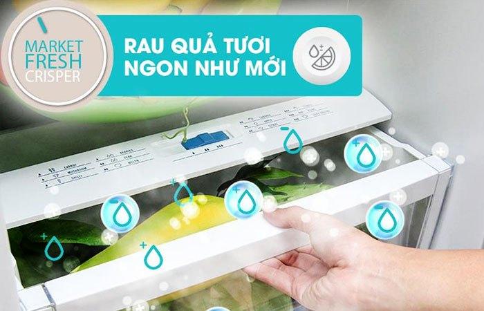 Giữ ẩm rau quả tốt hơn với tủ lạnh Electrolux