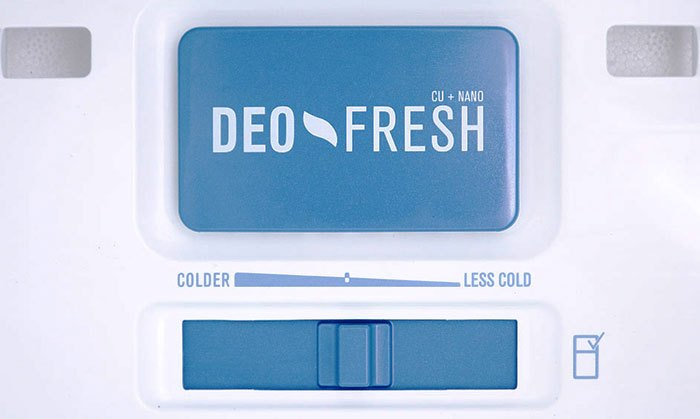 Dù thức ăn trong tủ lạnh Electrolux có bay mùi thì Deo Fresh cũng sẽ loại bỏ hiệu quả