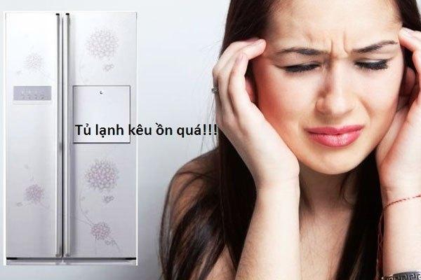 Tủ lạnh side by side sẽ gây ồn nếu đĩa hứng hay quạt có vấn đề
