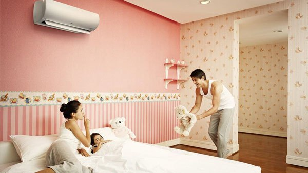 Giấc ngủ của gia đình bạn sẽ thêm sâu và thoải mái nhờ chế độ ngủ đêm của máy lạnh