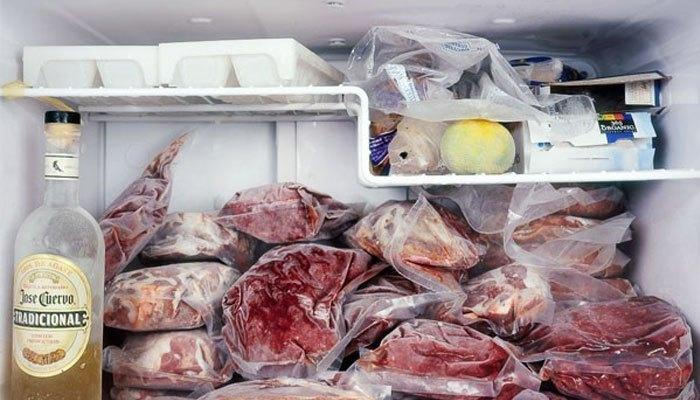 Bỏ nhiều thực phẩm vào ngăn đá tủ lạnh càng tiết kiệm năng lượng