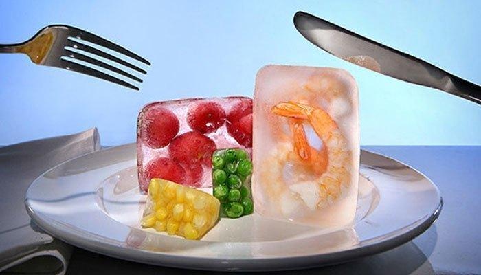 Tiết kiệm thức ăn bằng ngăn đá tủ lạnh