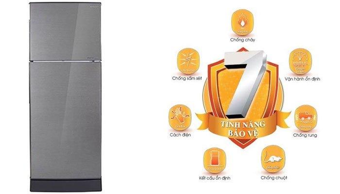 7 tính năng bảo vệ quá tuyệt cho chiếc tủ lạnh Sharp giá rẻ