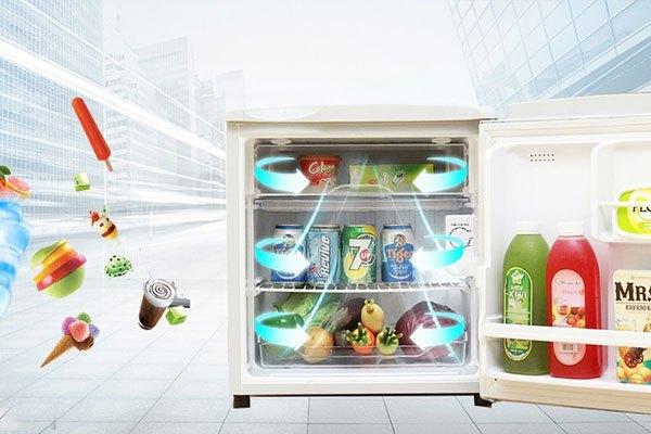 Tủ lạnh có khả năng làm lạnh nhanh
