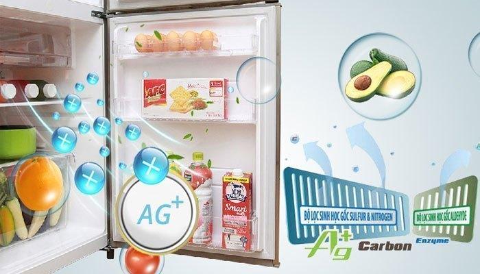 Tủ lạnh Toshiba GR-S19VPP khử mùi hiệu quả