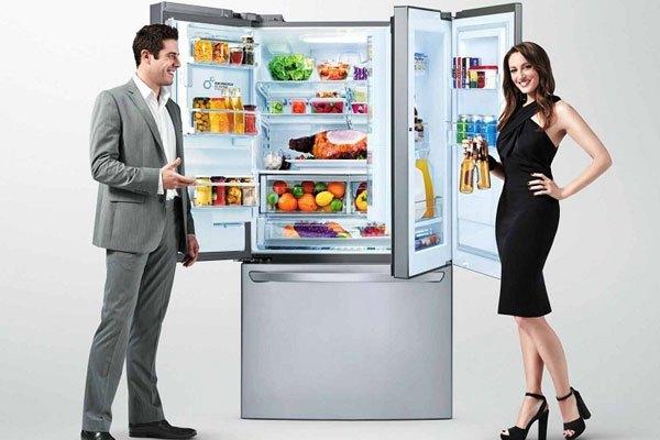Công nghệ Door in Door giúp tủ lạnh LG có thêm diện tích lưu trữ