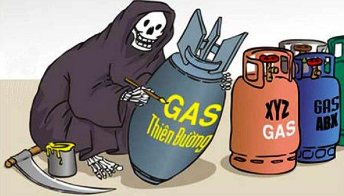 Bình gas chính là một trong những nguyên nhân chính gây cháy nổ tủ lạnh