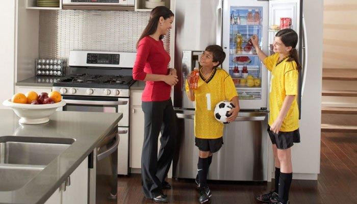 Dùng tủ lạnh trong thời gian nhất định