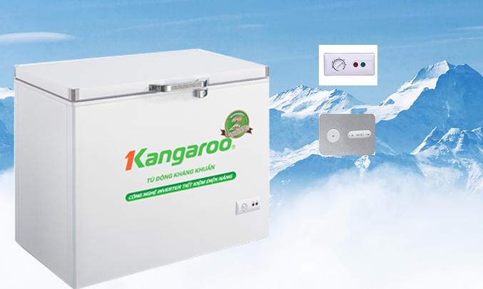 Tủ đông kháng khuẩn Kangaroo 140 Lít KG265NC1 -