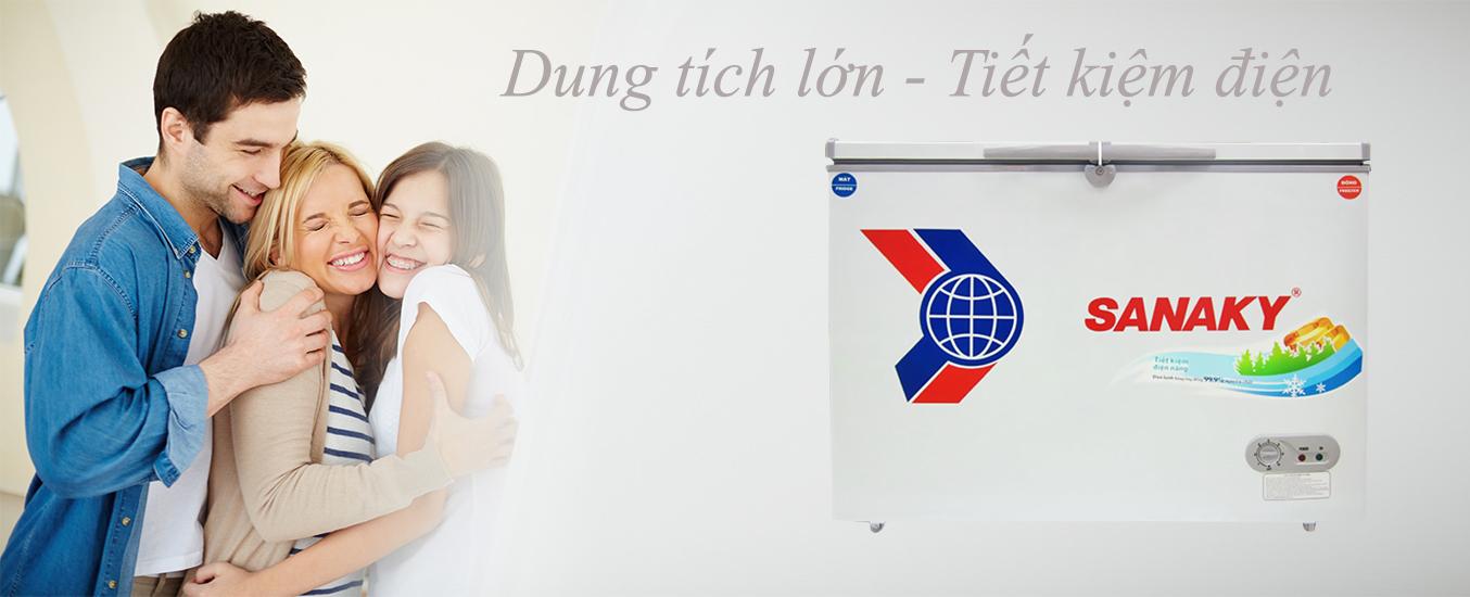 Tủ đông Sanaky VH 4099W3 giá khuyến mãi tại nguyenkim.com