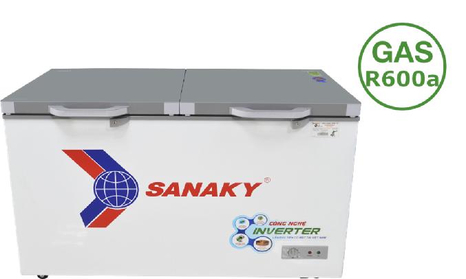 Tủ đông Sanaky Inverter 305 lít VH-4099A4K dung tích lớn