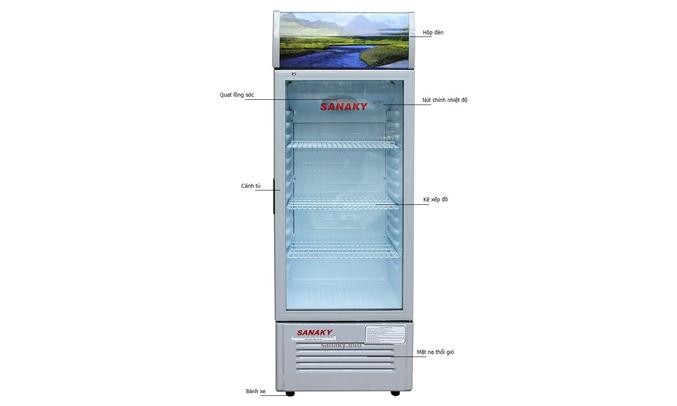 Tủ mát Sanaky VH-168K nhiệt độ ổn định