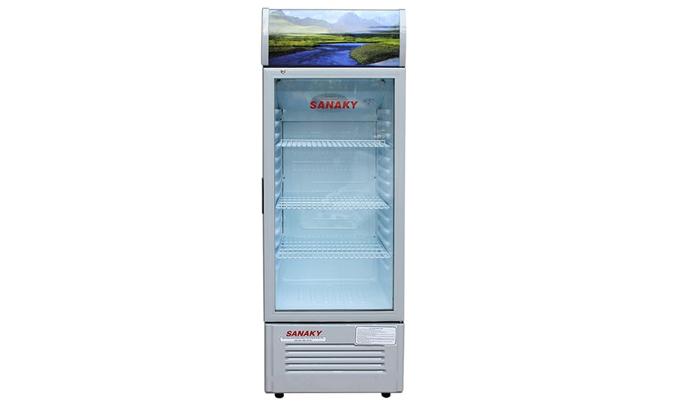 Tủ mát Sanaky VH-168K thiết kế 3 ngăn rộng rãi