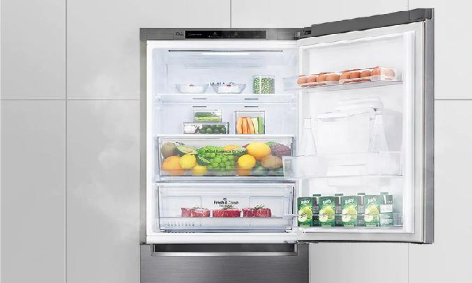 Tủ lạnh LG Inverter 306 Lít GR-B305PS - Công nghệLINEARCooling™
