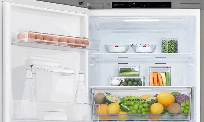 Tủ lạnh LG Inverter 306 Lít GR-B305PS - Cánh cửa có thể đảo ngược