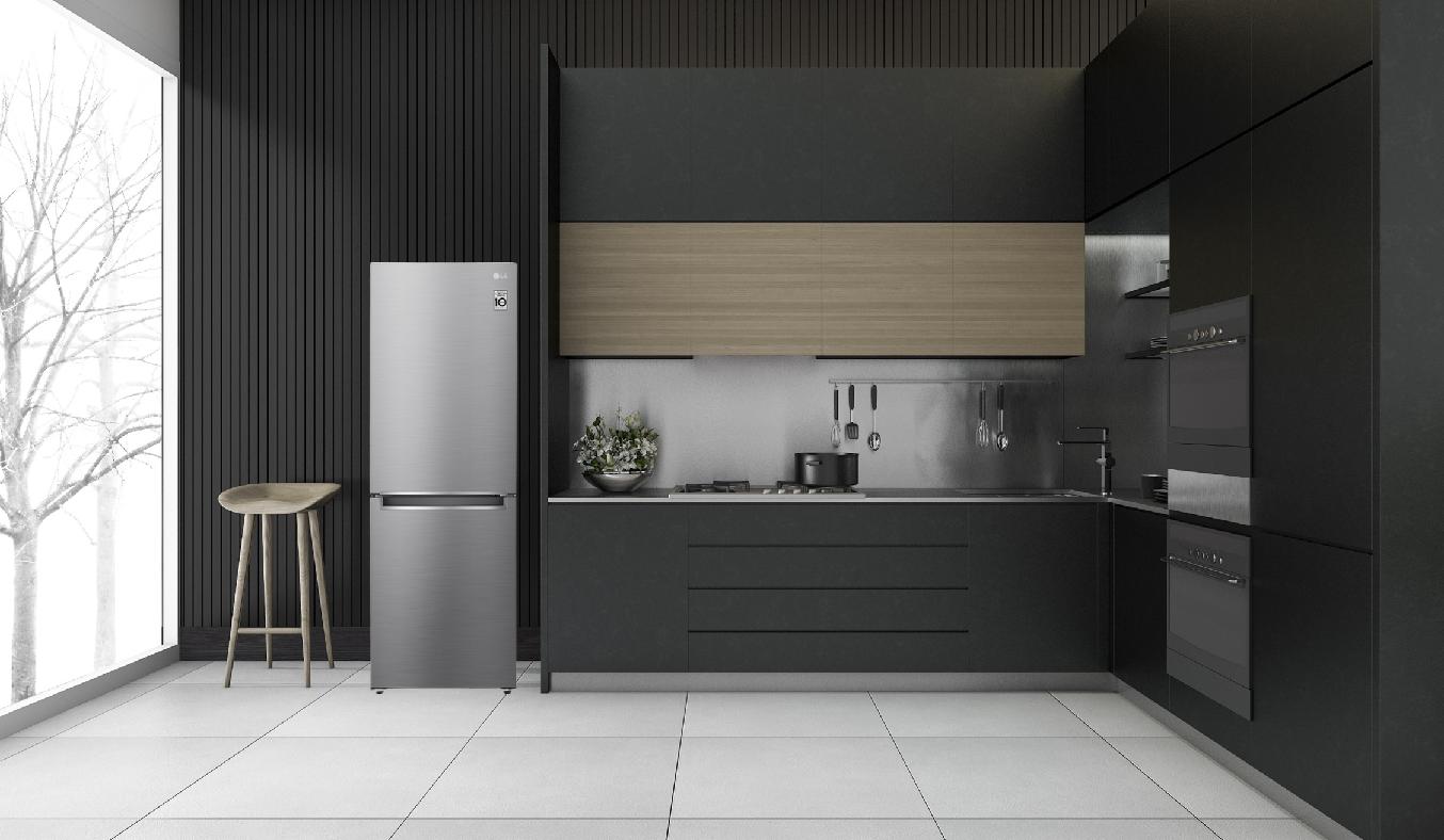 Tủ lạnh LG Inverter 306 Lít GR-B305PS -Công nghệ Inverter tiết kiệm điện, vận hành êm ái