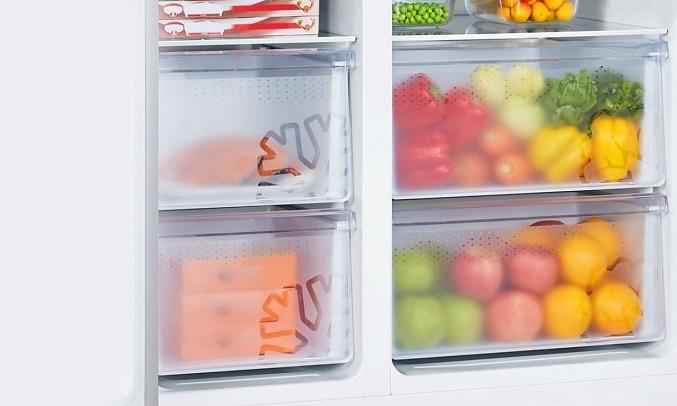 Tủ lạnh Casper Inverter 551 lít RS-575VBW - Dung tích 551 lít
