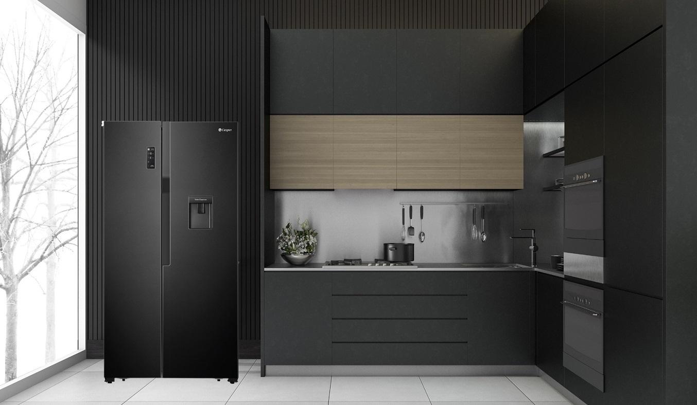 Tủ lạnh Casper Inverter 551 lít RS-575VBW - Thiết kế side by side sang trọng