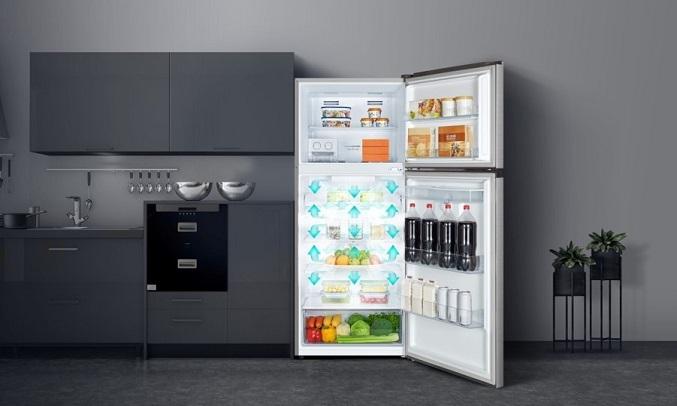 Tủ lạnh Casper Inverter 404 lít RT-421VGW - Hệ thống làm lạnh đa chiều