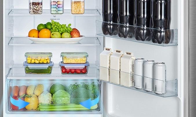 Tủ lạnh Casper Inverter 404 lít RT-421VGW - Ngăn rau giữ ẩm