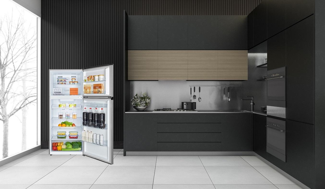 Tủ lạnh Casper Inverter 404 lít RT-421VGW - Tiết kiệm điện năng