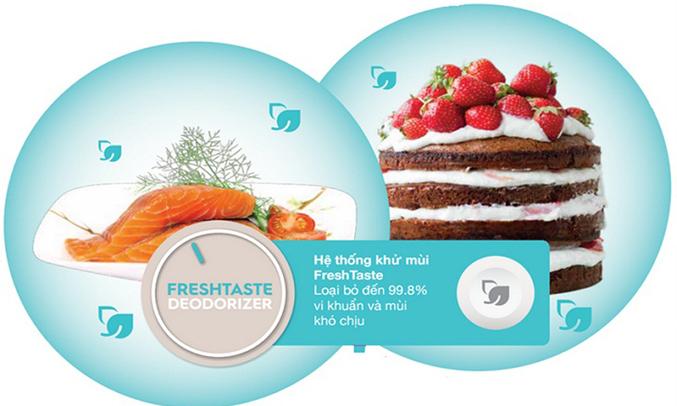 Tủ lạnh Electrolux 570 lít ETB5702BA hệ thống khử mùi Freshtaste
