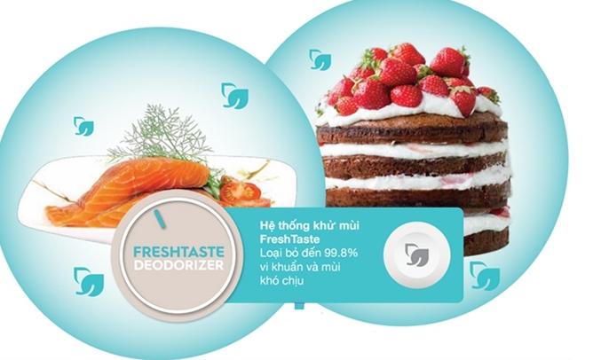 Tủ lạnh Aqua AQR-Q346AB 301 lít khuyến mãi hấp dẫn