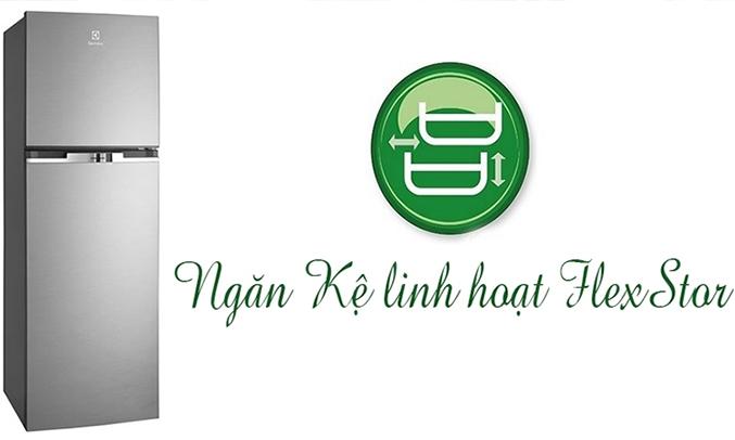 Tủ lạnh Electrolux ETB2100MG 231 lít kính bền tốt