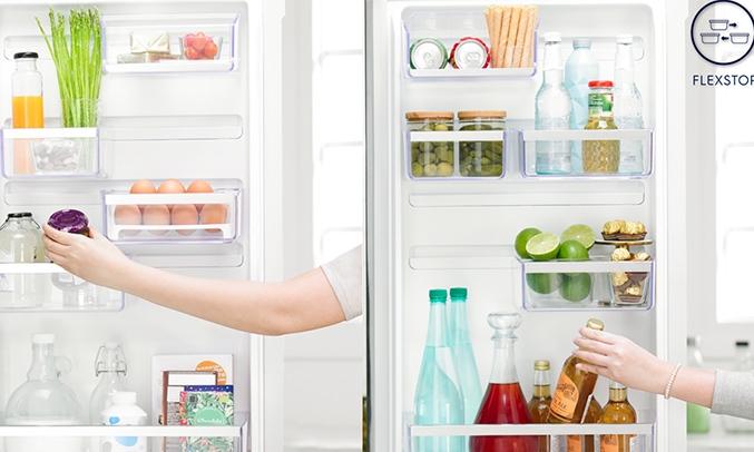 Tủ lạnh Electrolux Inverter 260 lít ETB2802J-H khay đá xoay tiện lợi