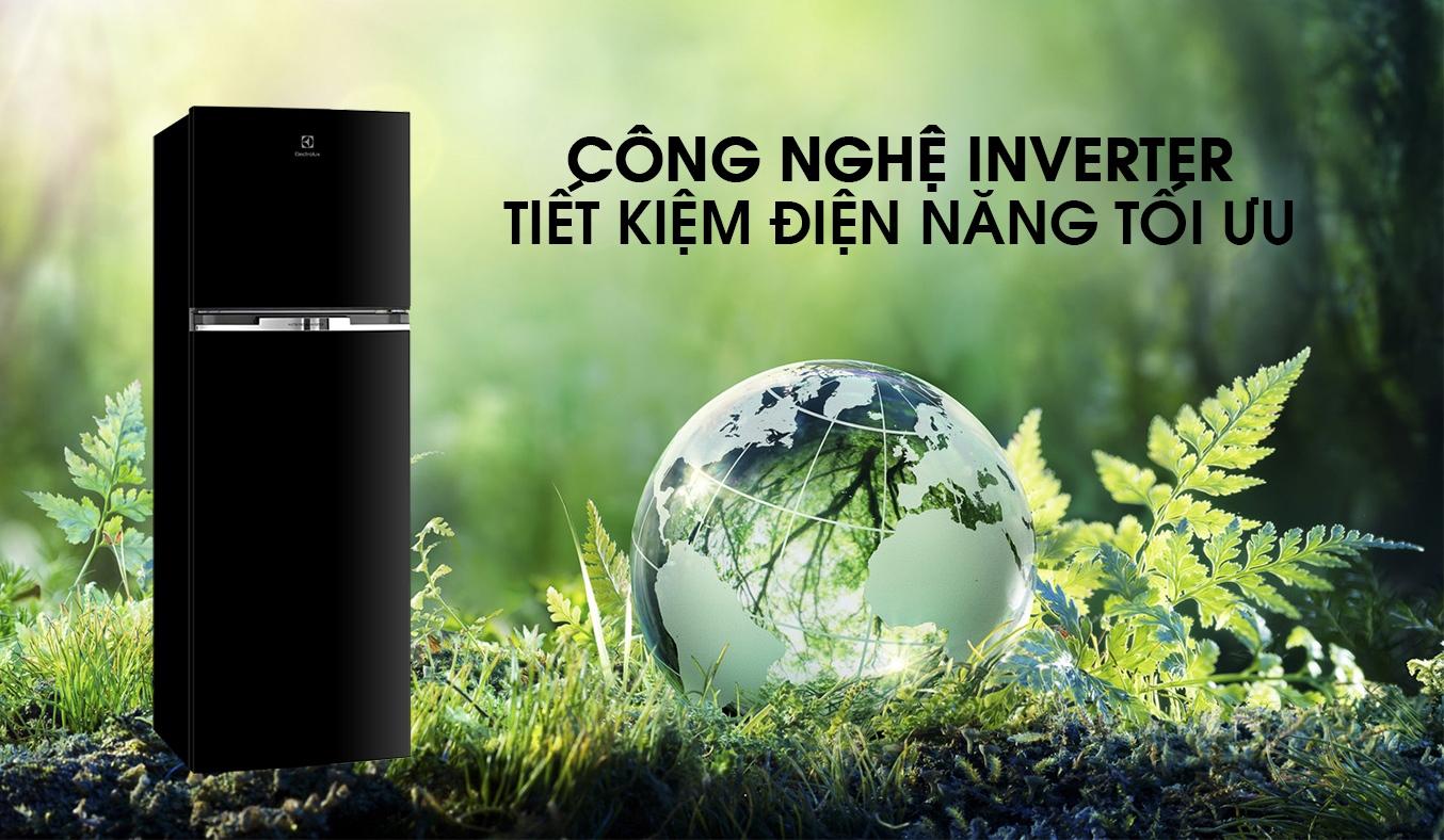 Tủ lạnh Electrolux Inverter 320 lít ETB3400J-H tiết kiệm điện