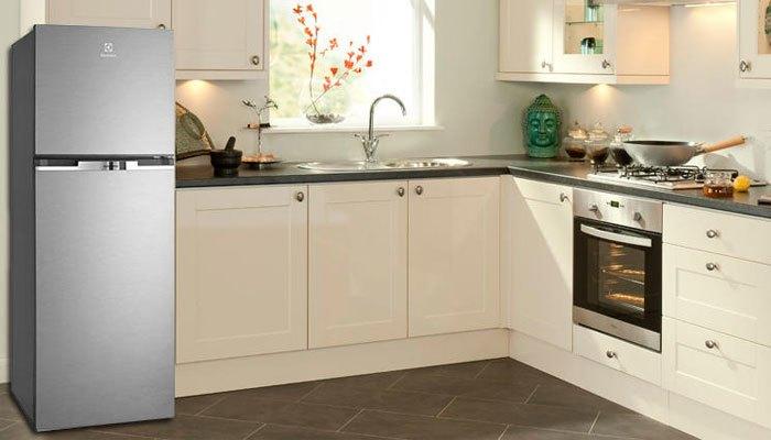 Gian bếp nhà bạn trông thật sang trọng khi có thêm sự góp mặt của tủ lạnh Electrolux
