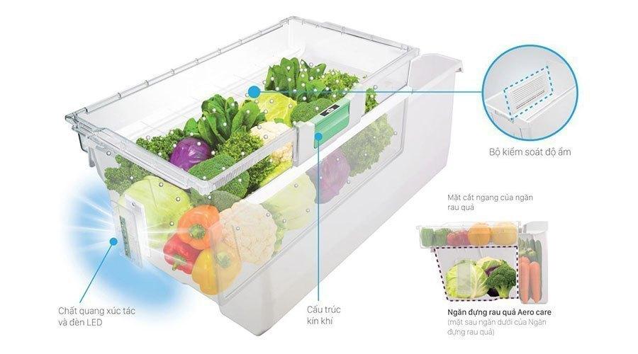 Mua tủ lạnh ở đâu tốt? Tủ lạnh Hitachi 722 lít R-E6800XV
