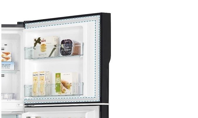 Tủ lạnh Hitachi Inverter 406 lít R-FVX510PGV9(GBK) - Đệm cửa chống mốc