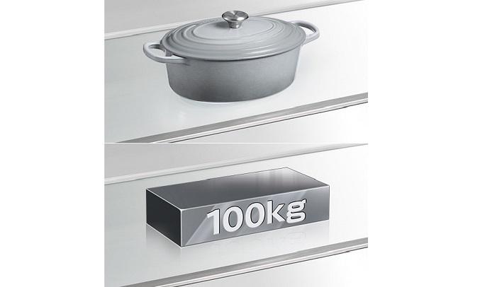 Tủ lạnh Hitachi Inverter 406 lít R-FVX510PGV9(GBK) - Khay kính chịu lực