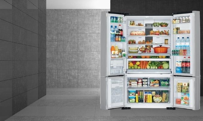 Tủ lạnh Hitachi Inverter 587 Lít R-FWB780PGV6X (GBK) - Màng lọc Nano Titanium