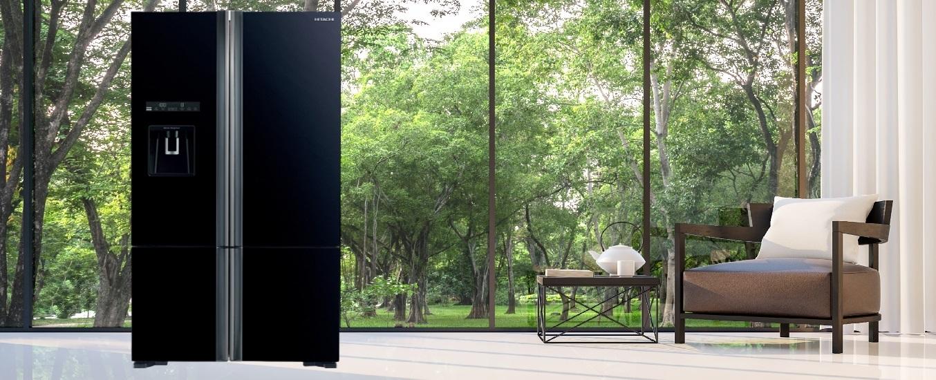 Tủ lạnh Hitachi Inverter 587 Lít R-FWB780PGV6X (GBK) - Thiết kế ngăn linh hoạt