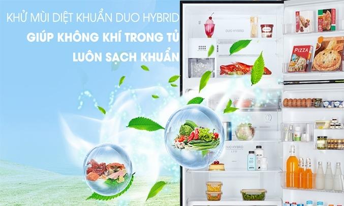 Tủ lạnh Hitachi Inverter 349 lít R-FVY480PGV0 (GBK) - Khử mùi kháng khuẩn