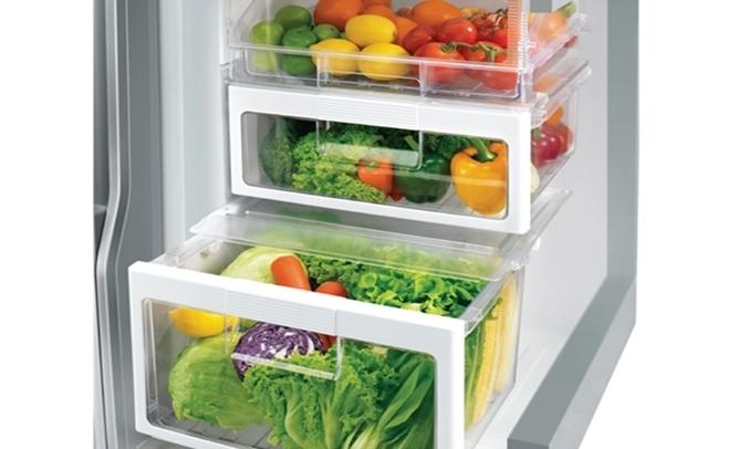 Tủ lạnh Hitachi Inverter 349 lít R-FVY480PGV0 (GBK) - Ngăn rau quả thông minh