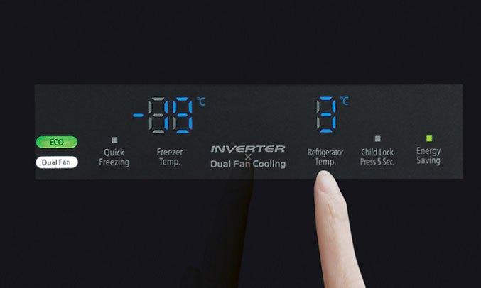 Tủ lạnh Hitachi Inverter 600 lít R-FM800PGV2 (GBK)