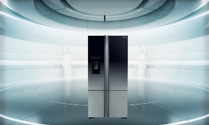 Tủ lạnh Hitachi Inverter 647 Lít R-FWB780PGV6X (XGR) - Ngăn rau quả thông minh Aero Care