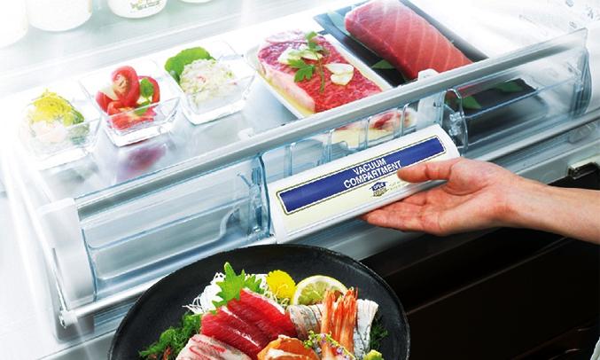 Tủ lạnh Hitachi R-E6200V 657 lít cải tiến