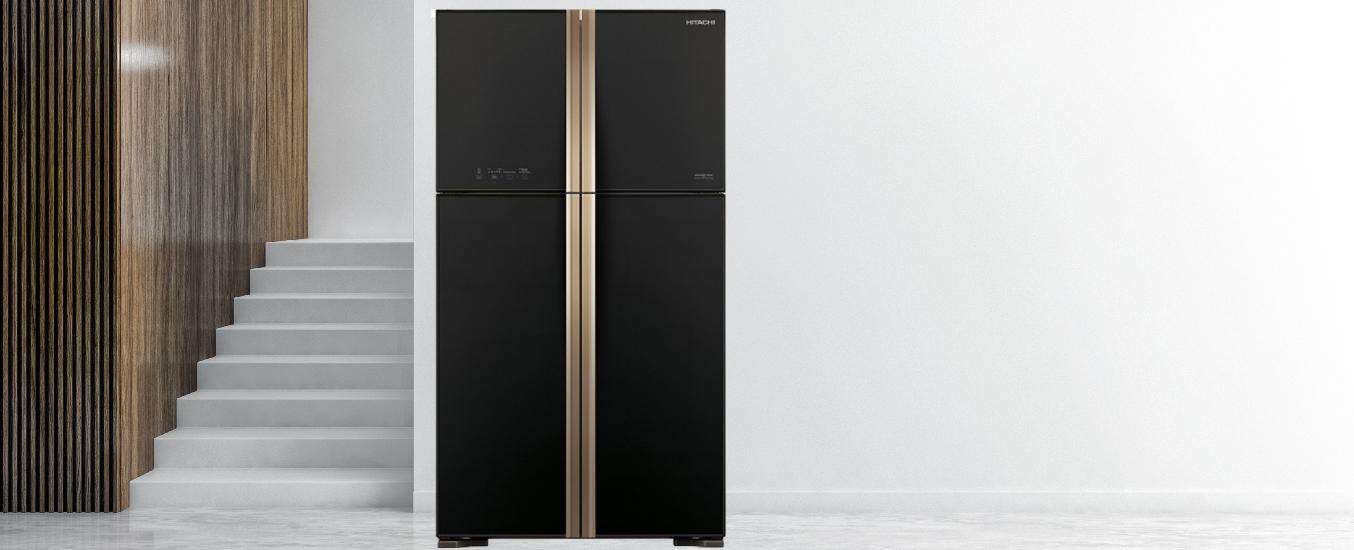 Tủ lạnh Hitachi 510 lít R-FW650PGV8 (GBK) - Cảm biến nhiệt ECO tránh lãng phí điện năng