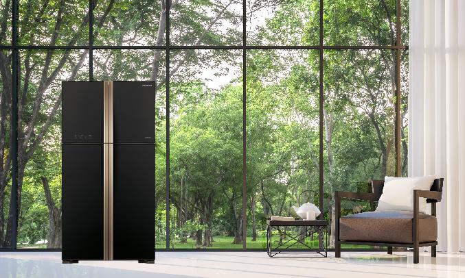 Tủ lạnh Hitachi 510 lít R-FW650PGV8 (GBK) - Dung tích 509 lít