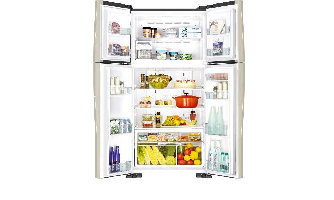Tủ lạnh Hitachi 510 lít R-FW650PGV8 (GBK) - Màng lọc Nano Titanium