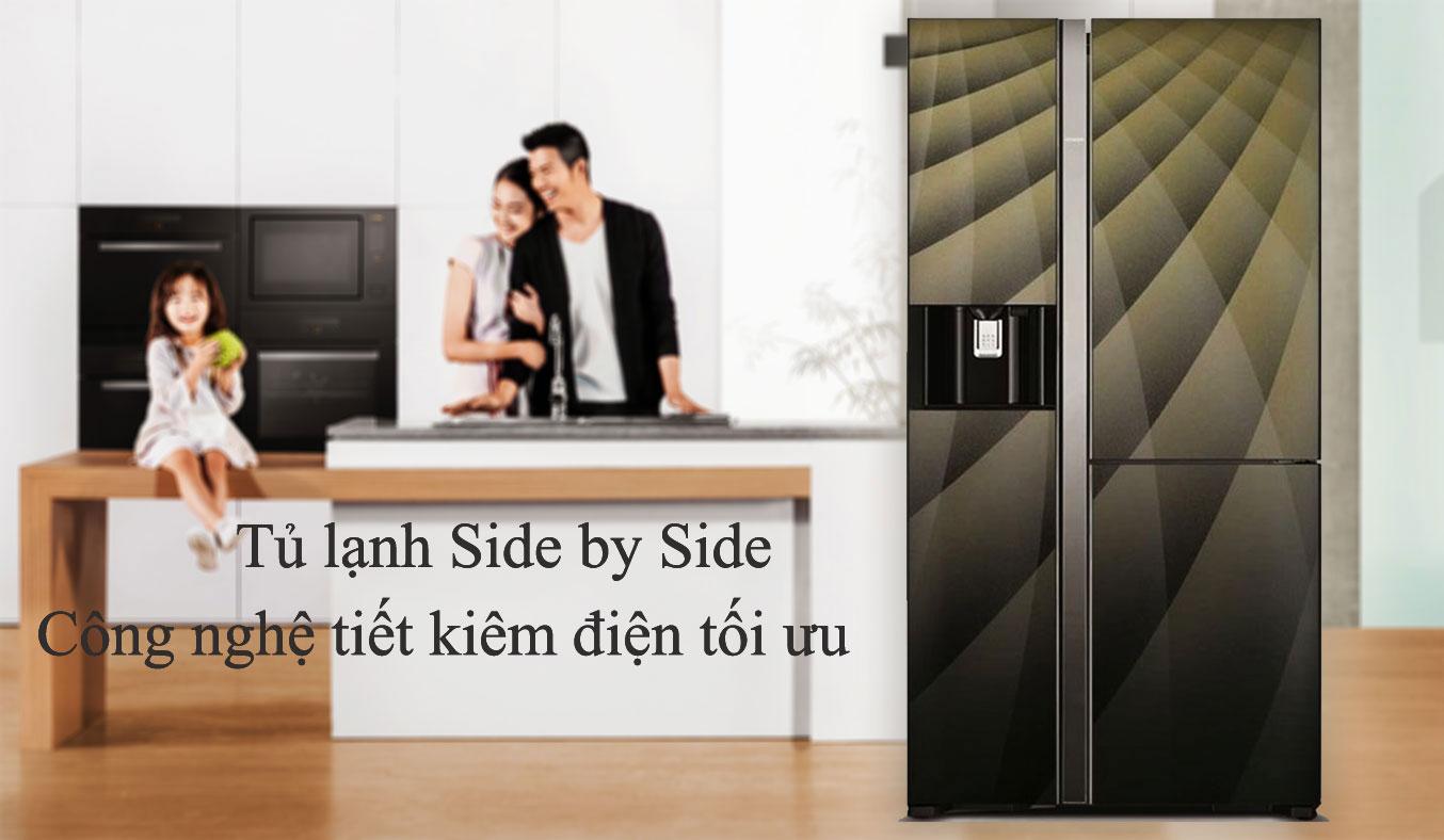 Tủ lạnh Hitachi R-M700AGPGV4X (DIA) chính hãng