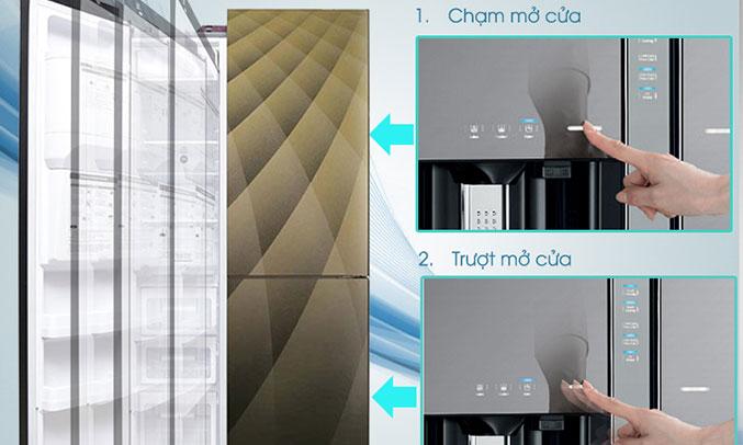 Tủ lạnh Hitachi R-M700AGPGV4X (DIA) sang trọng