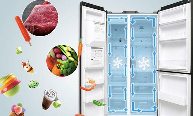 Tủ lạnh Hitachi R-M700AGPGV4X (DIA) dung tích lớn