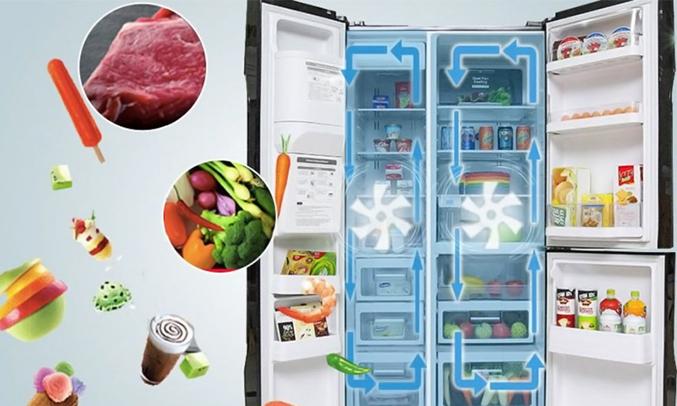 Tủ lạnh Hitachi 584 lít R-M700GPGV2 làm lạnh nhanh